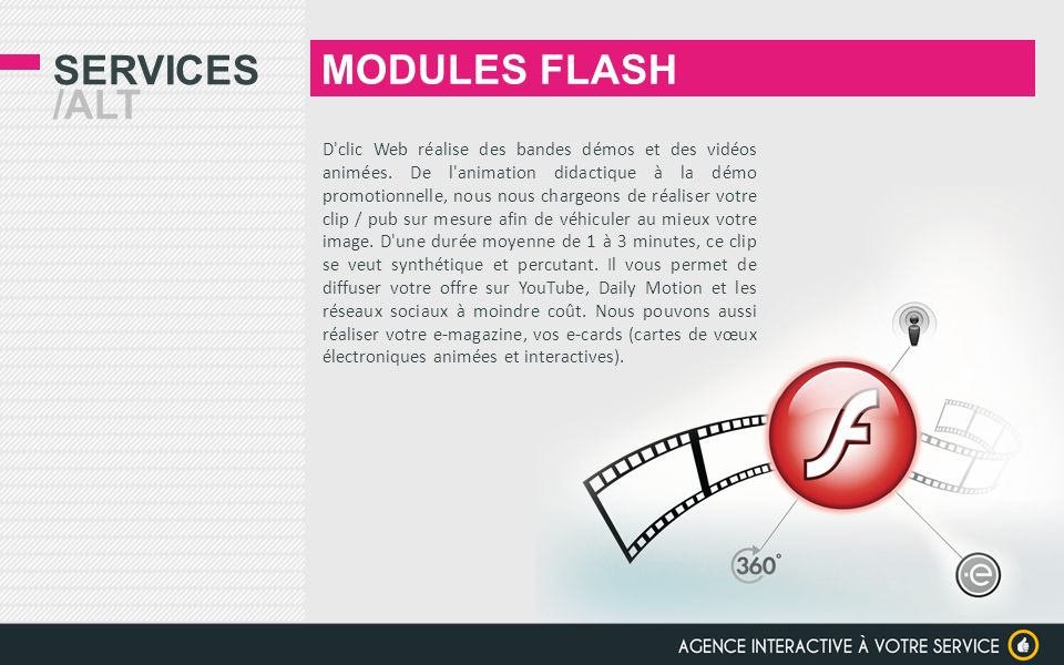MODULES FLASH Services /alt