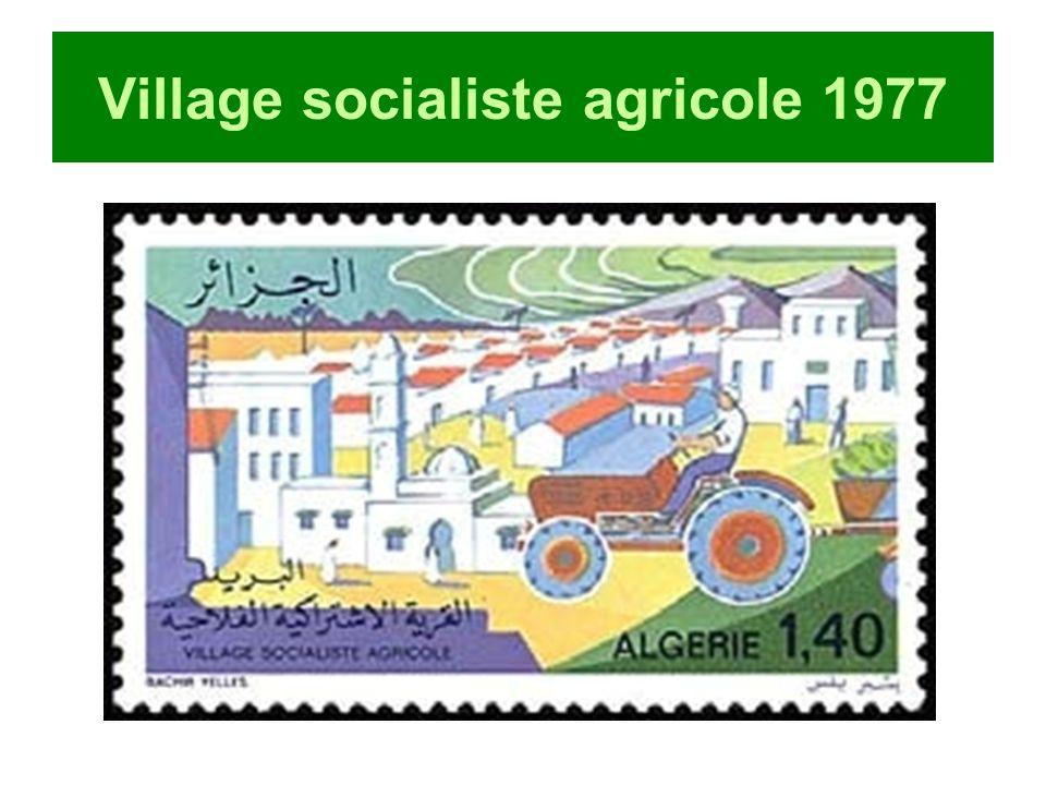 Village socialiste agricole 1977