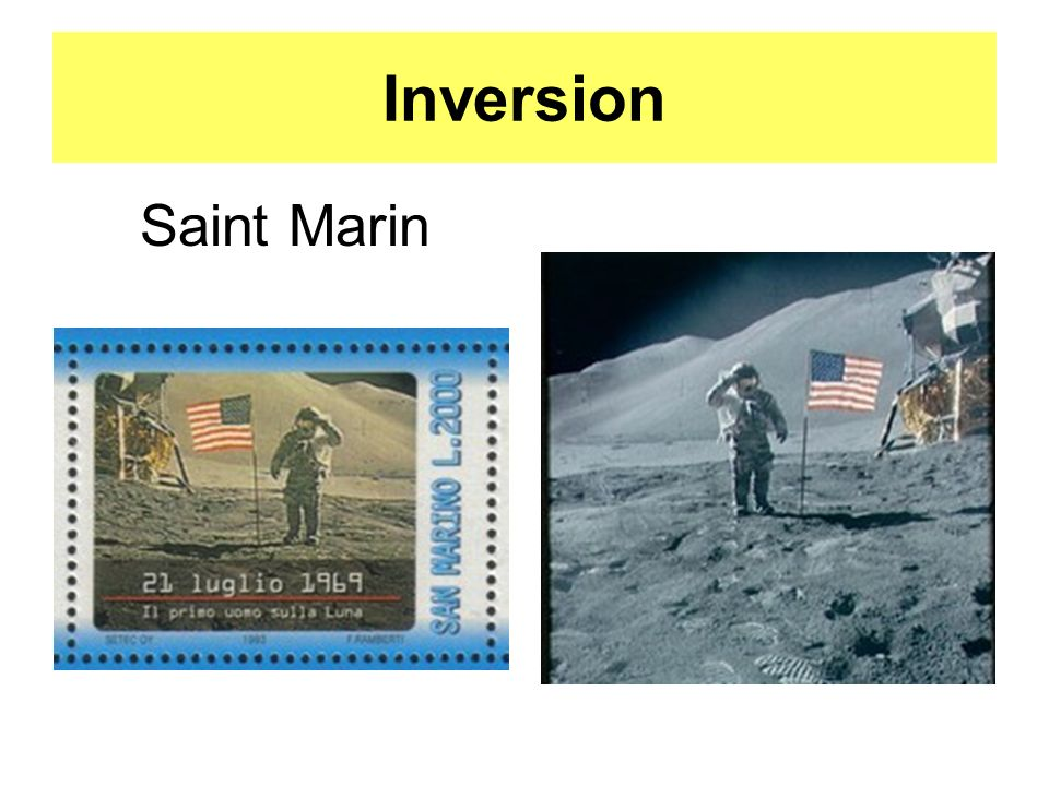 Inversion Saint Marin