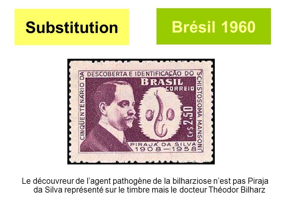 Substitution Brésil 1960.
