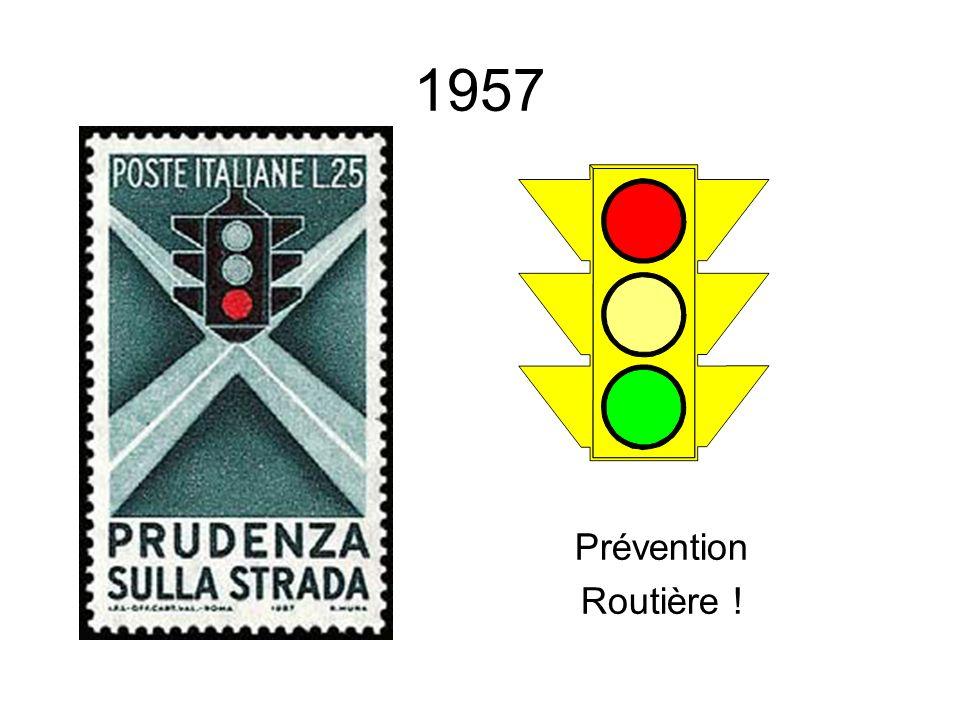 1957 Prévention Routière !
