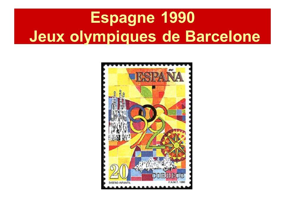 Espagne 1990 Jeux olympiques de Barcelone