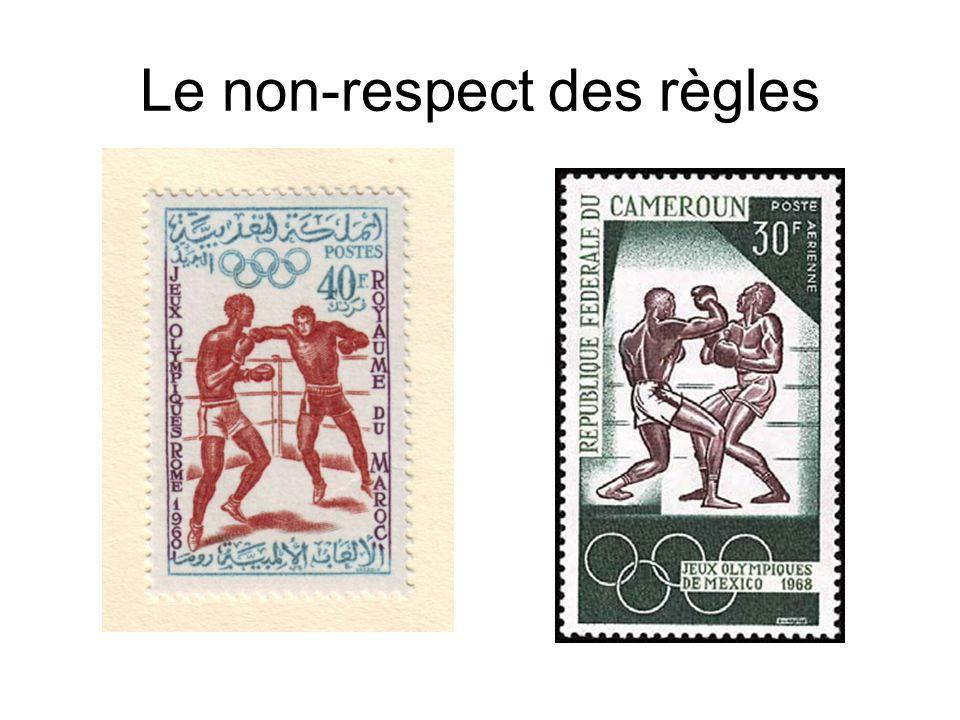 Le non-respect des règles