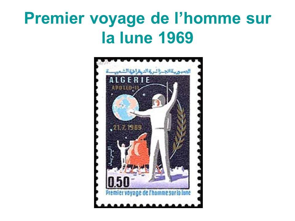 Premier voyage de l'homme sur la lune 1969