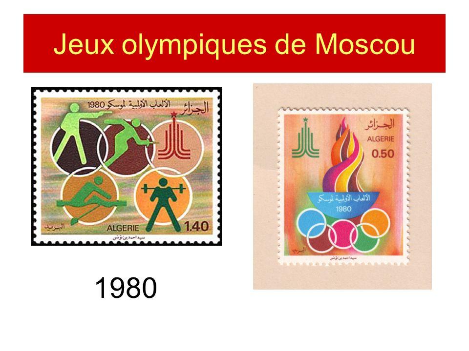 Jeux olympiques de Moscou