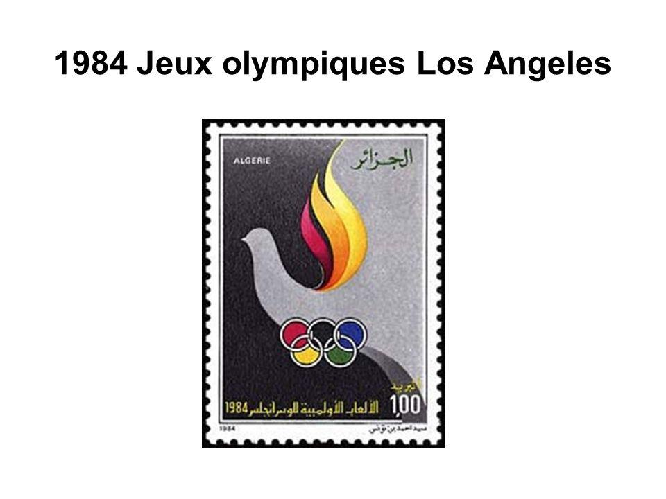 1984 Jeux olympiques Los Angeles