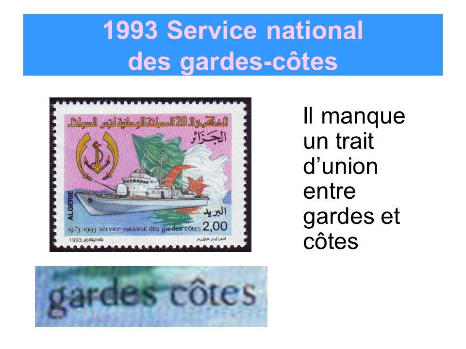 1993 Service national des gardes-côtes