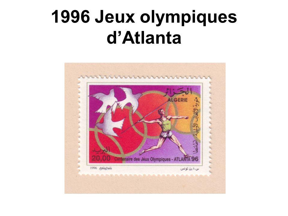 1996 Jeux olympiques d'Atlanta