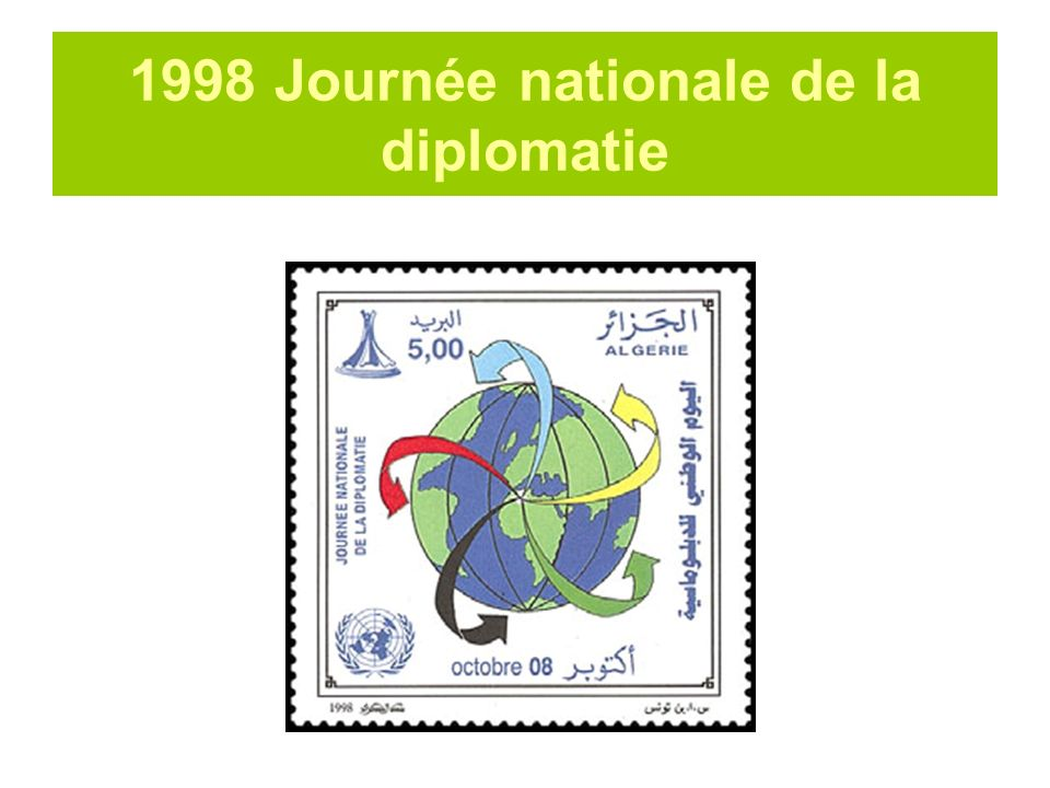 1998 Journée nationale de la diplomatie