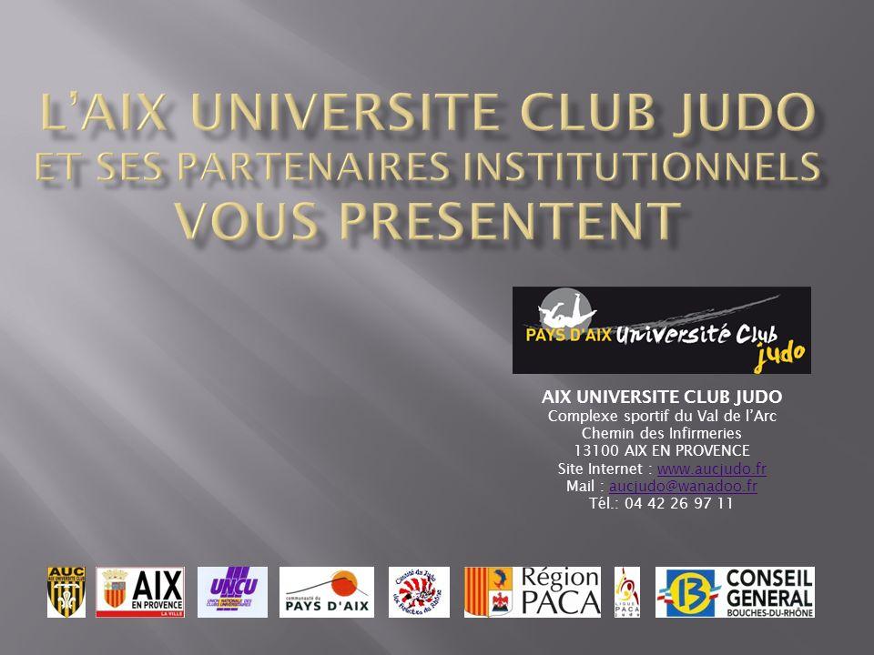 AIX UNIVERSITE CLUB JUDO