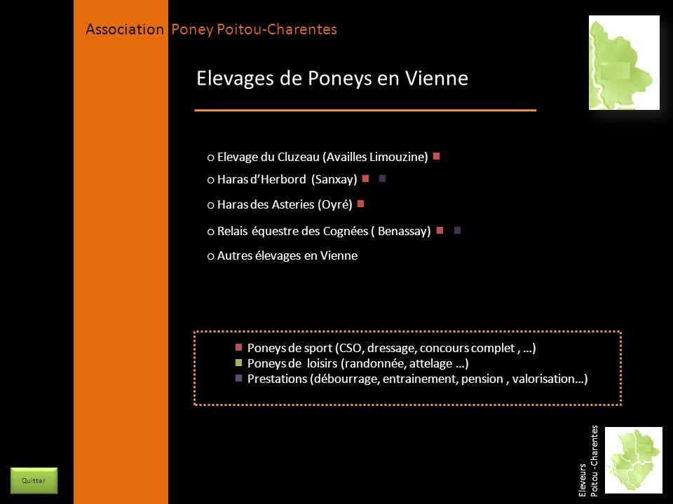 Elevages de Poneys en Vienne