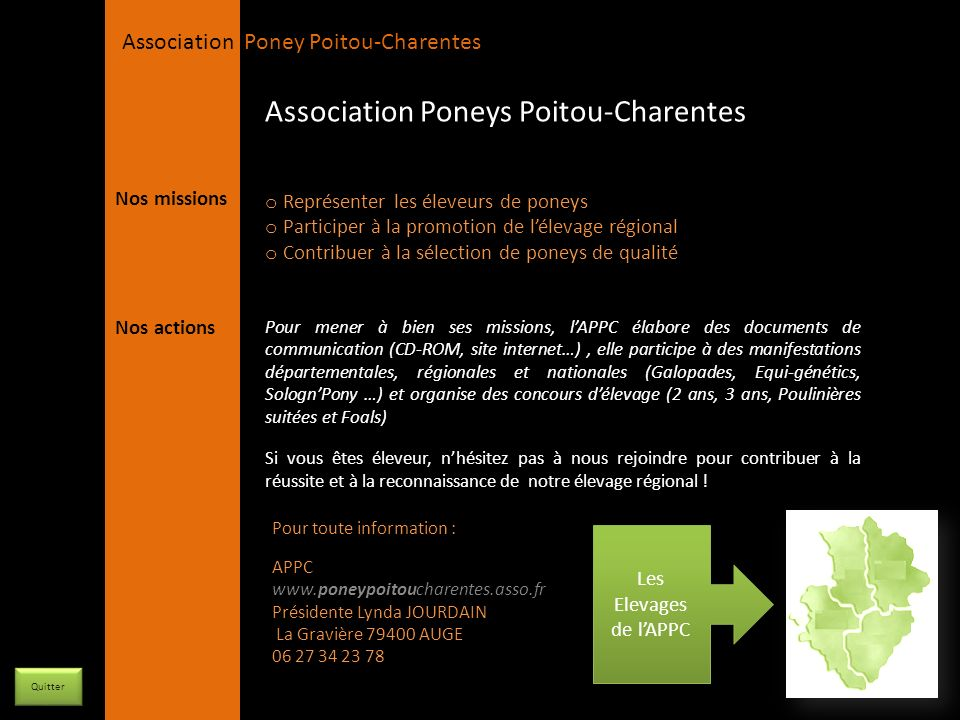 Association Poneys Poitou-Charentes