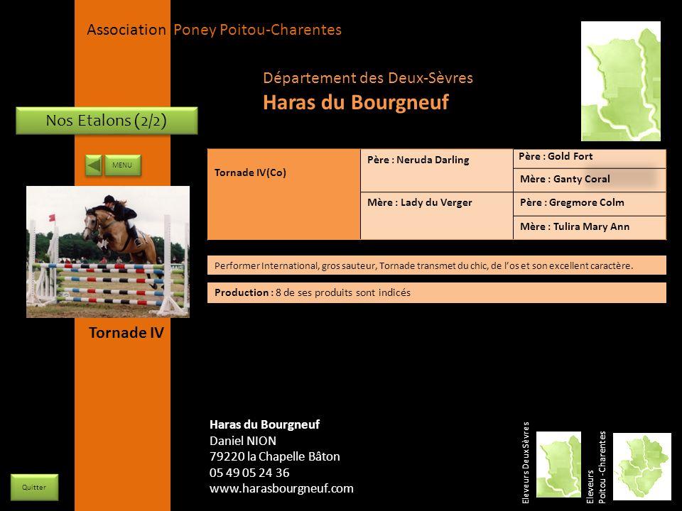Haras du Bourgneuf Département des Deux-Sèvres Nos Etalons (2/2)