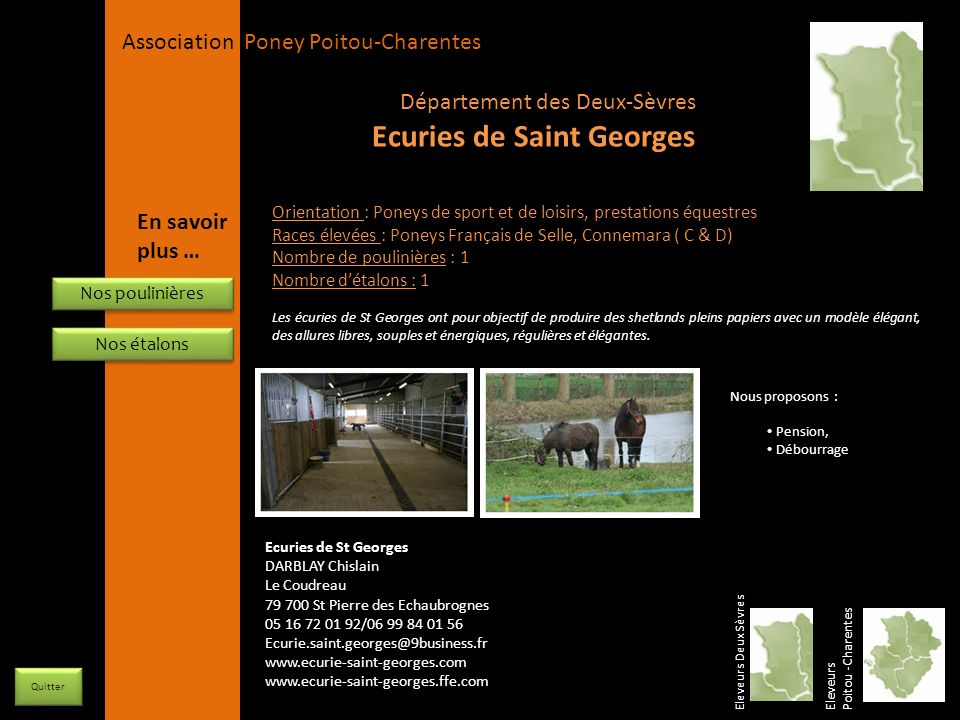 Ecuries de Saint Georges