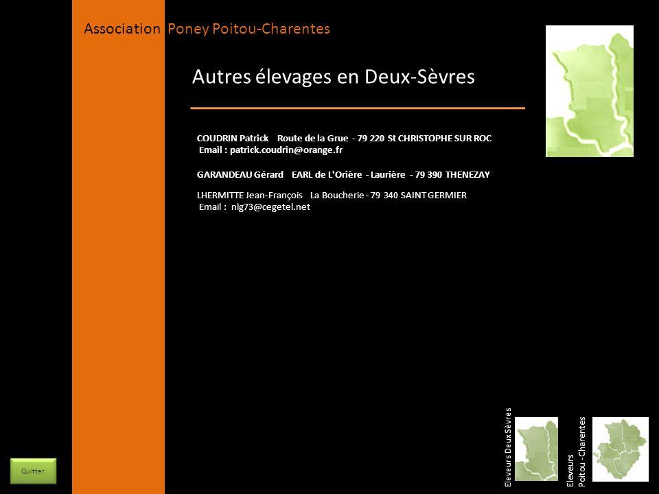 Autres élevages en Deux-Sèvres