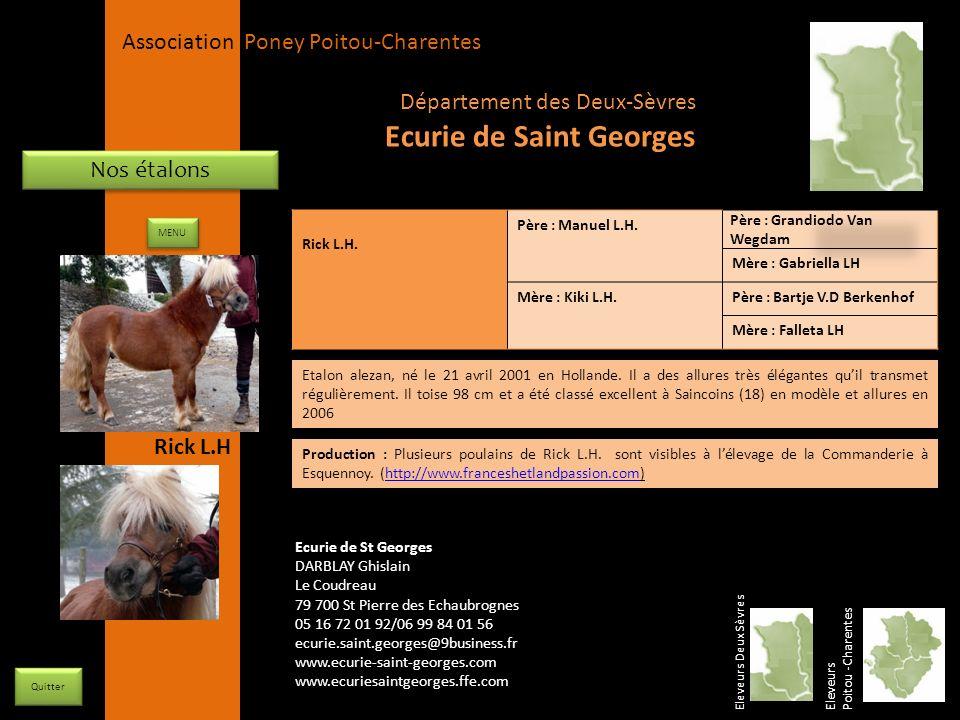 Ecurie de Saint Georges