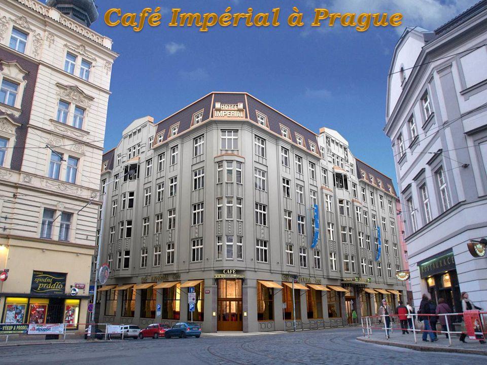 Café Impérial à Prague
