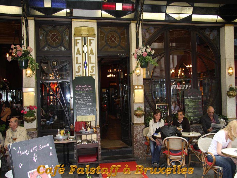 Café Falstaff à Bruxelles