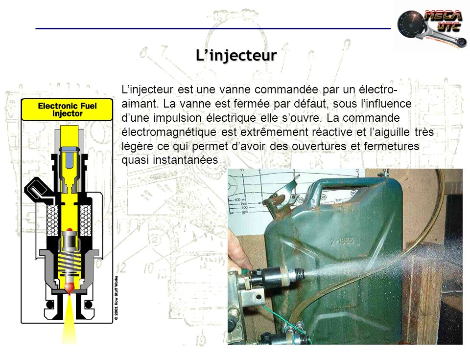 L'injecteur