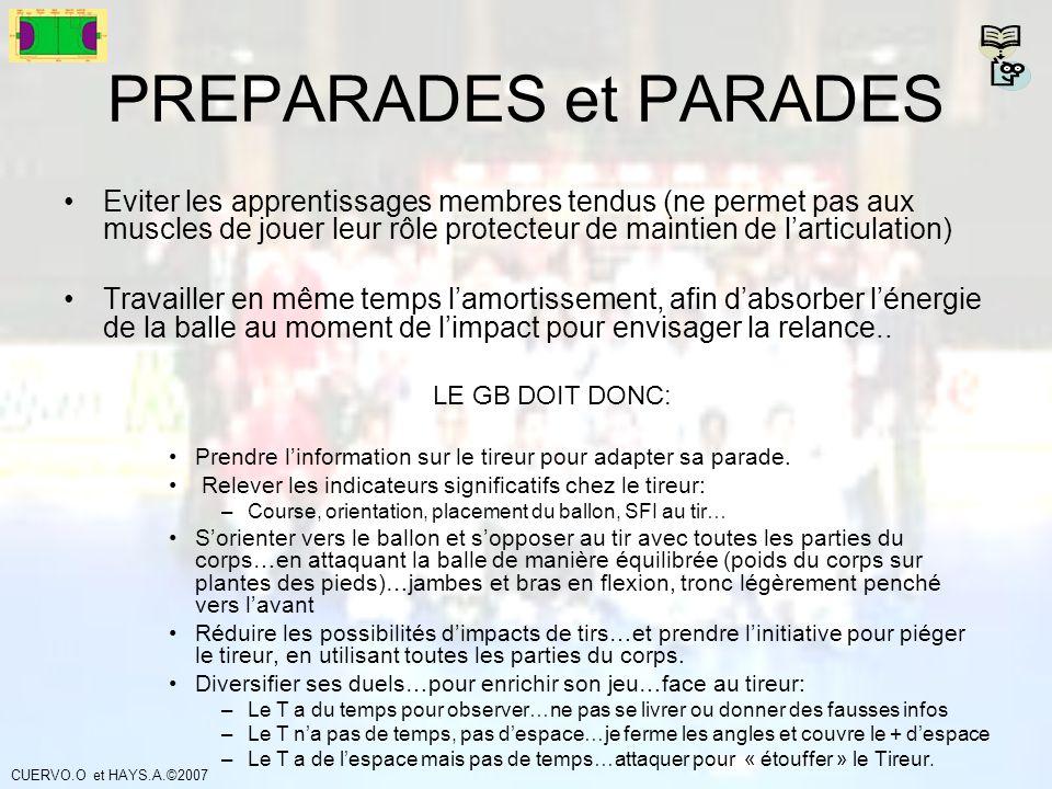 PREPARADES et PARADES