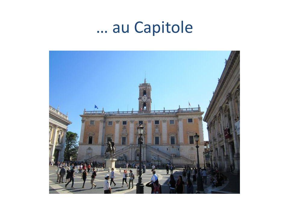 … au Capitole