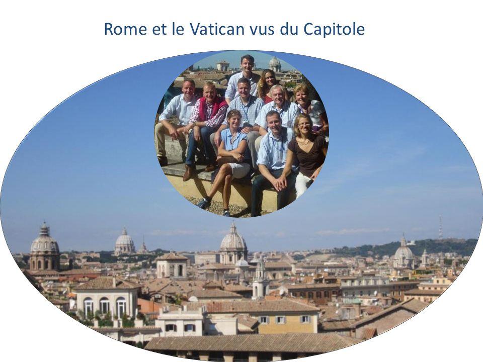 Rome et le Vatican vus du Capitole