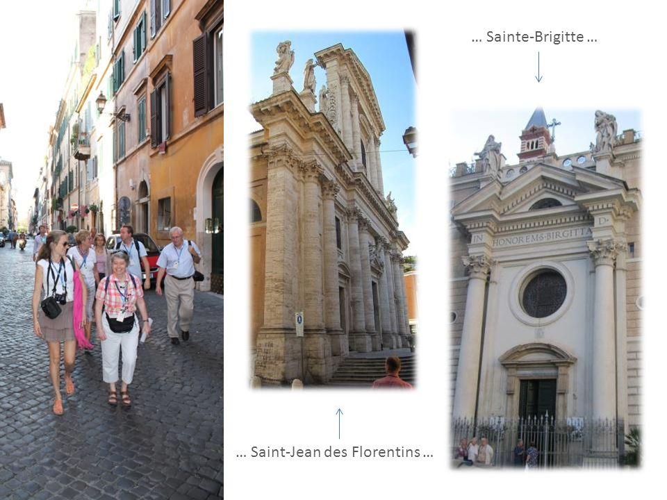 … Sainte-Brigitte … … Saint-Jean des Florentins …