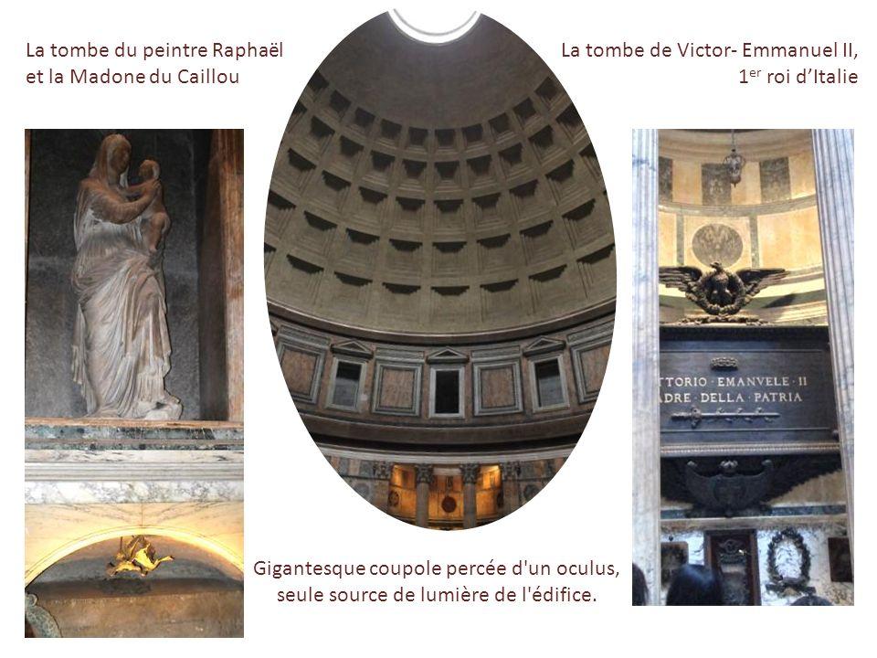 La tombe du peintre Raphaël et la Madone du Caillou