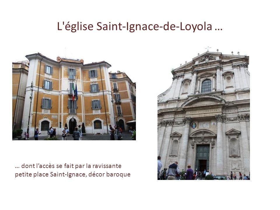 L église Saint-Ignace-de-Loyola …