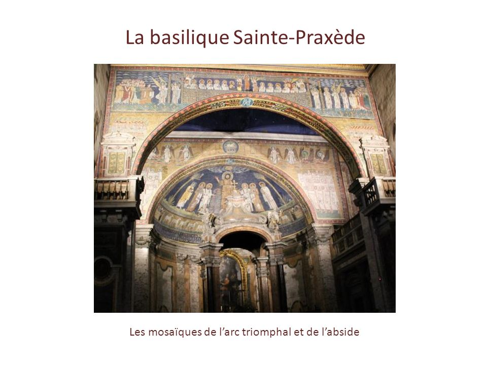 La basilique Sainte-Praxède