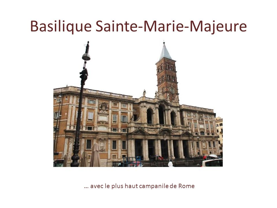 Basilique Sainte-Marie-Majeure