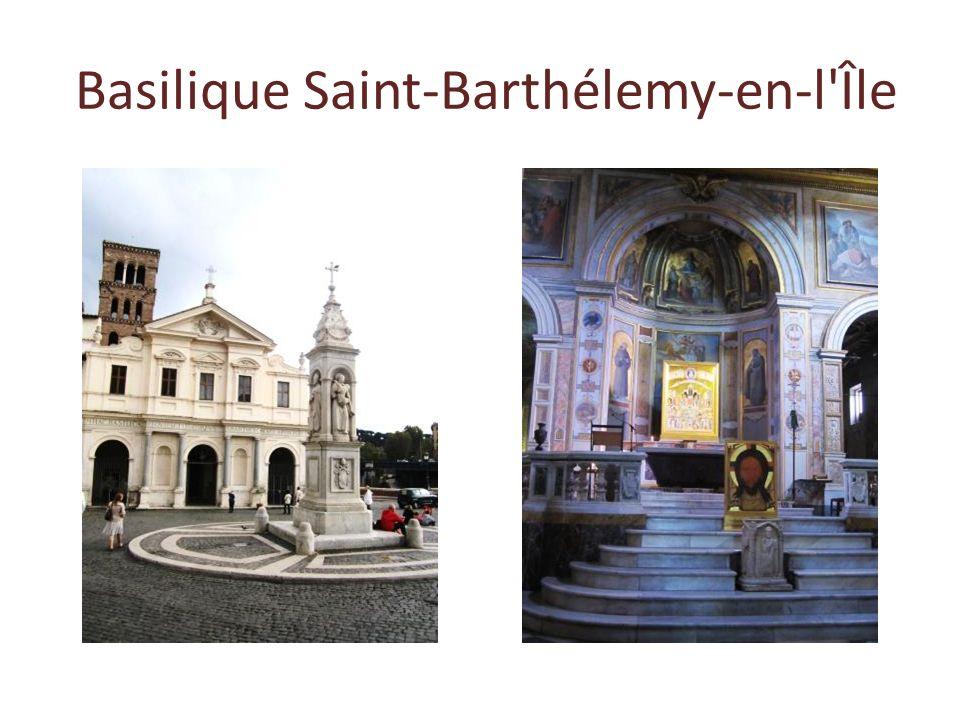 Basilique Saint-Barthélemy-en-l Île