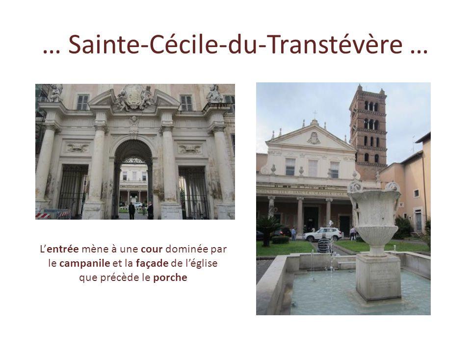 … Sainte-Cécile-du-Transtévère …