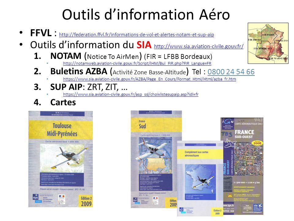 Outils d'information Aéro