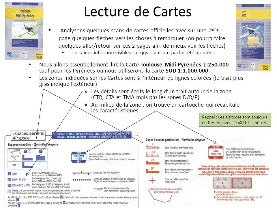 Lecture de Cartes