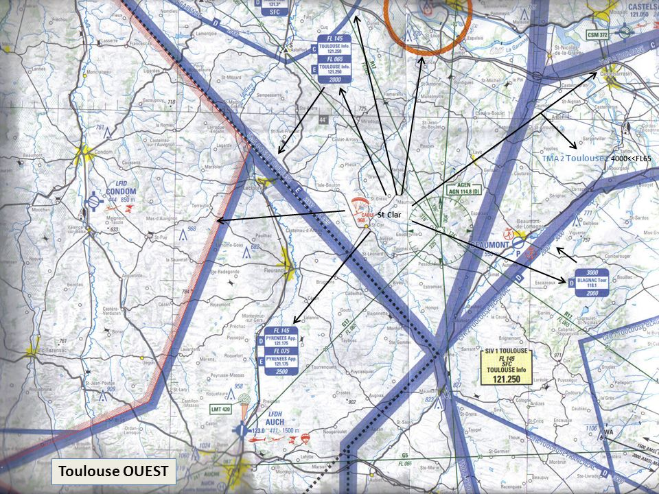 TMA 2 Toulouse C 4000<<FL65