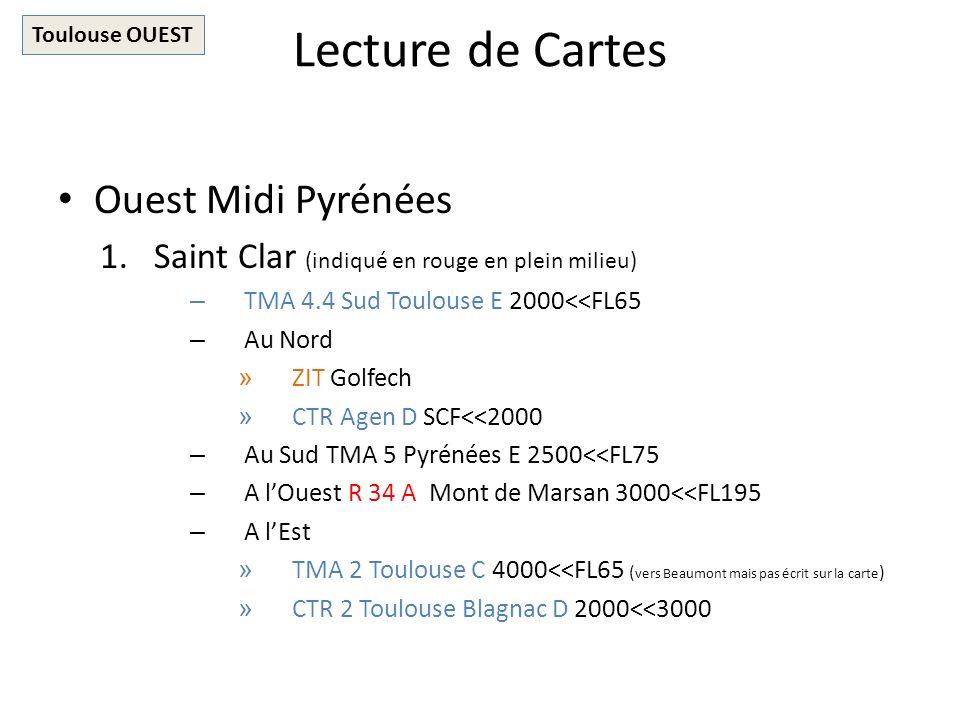 Lecture de Cartes Ouest Midi Pyrénées