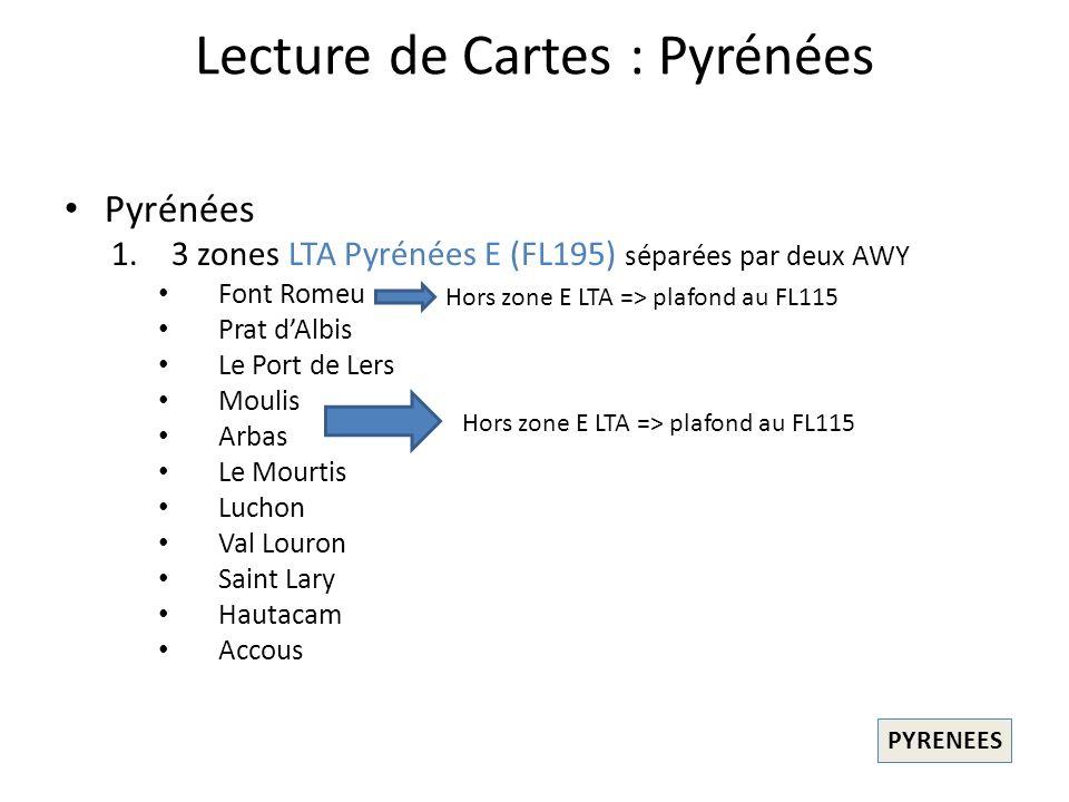Lecture de Cartes : Pyrénées