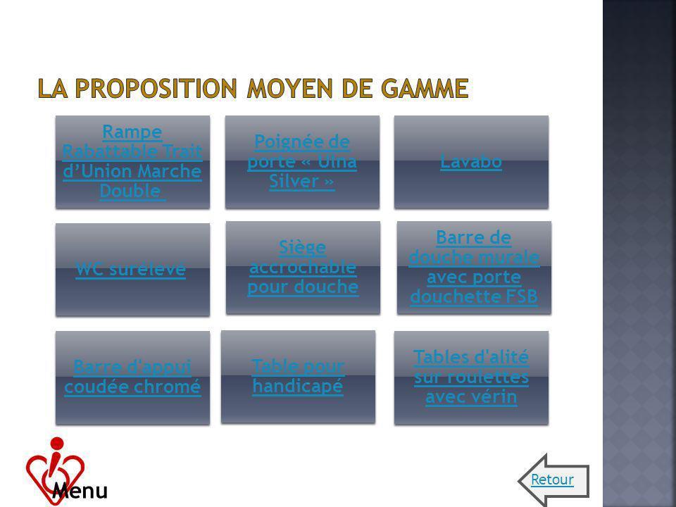 La proposition Moyen de gamme