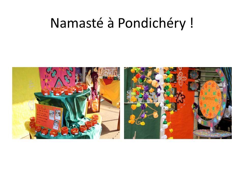 Namasté à Pondichéry !