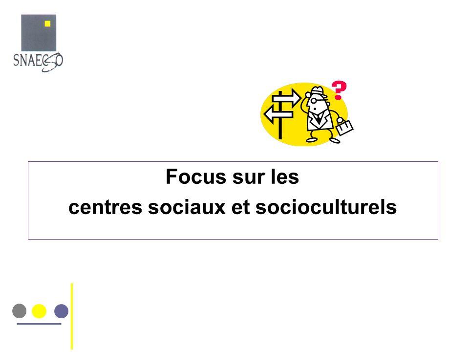 centres sociaux et socioculturels