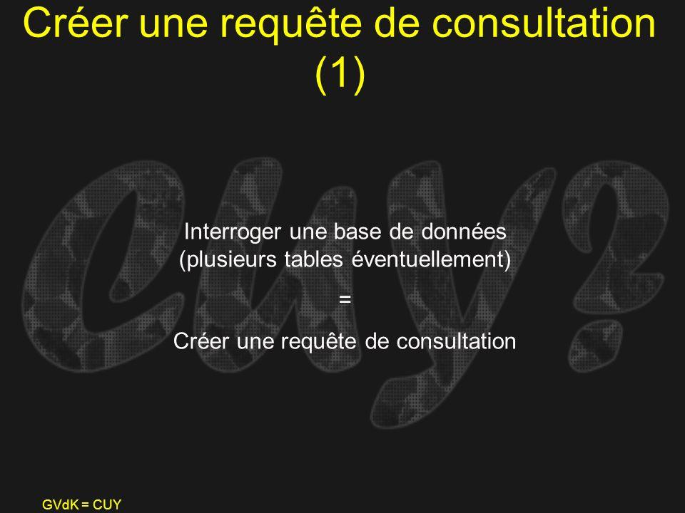 Créer une requête de consultation (1)