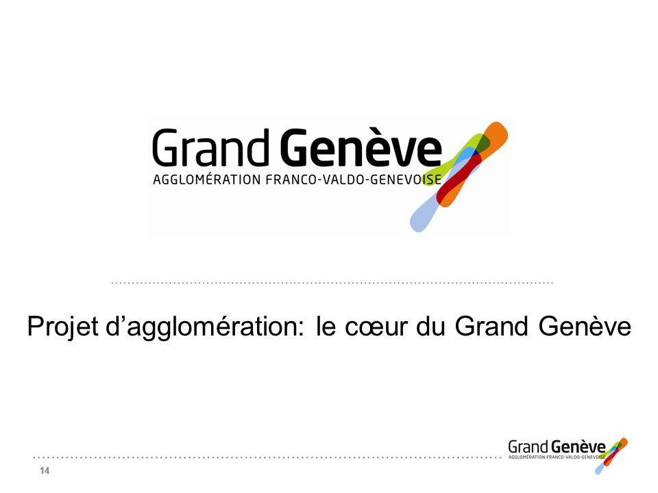 Projet d'agglomération: le cœur du Grand Genève