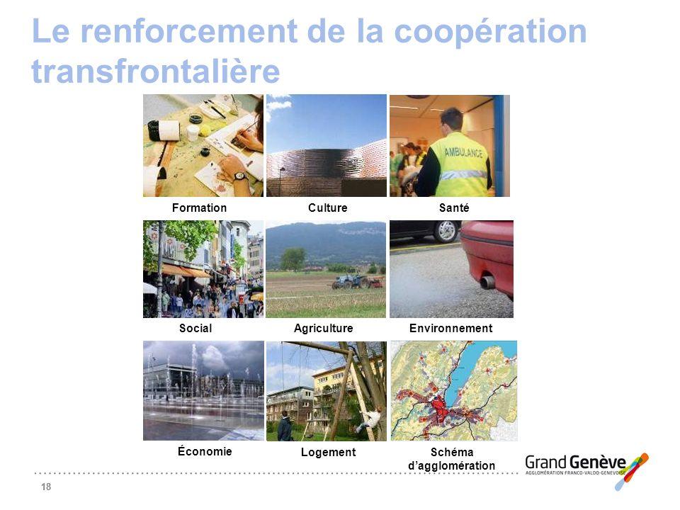 Le renforcement de la coopération transfrontalière