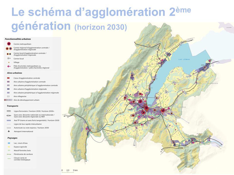 Le schéma d'agglomération 2ème génération (horizon 2030)
