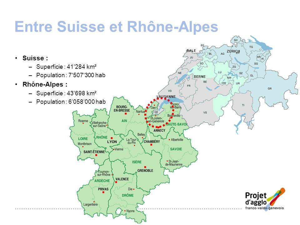 Entre Suisse et Rhône-Alpes