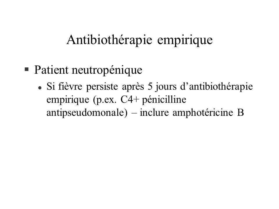 Antibiothérapie empirique