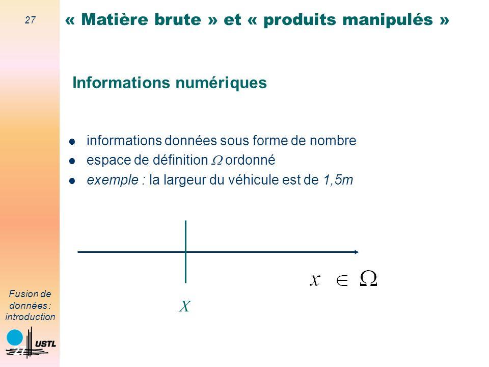 Informations numériques
