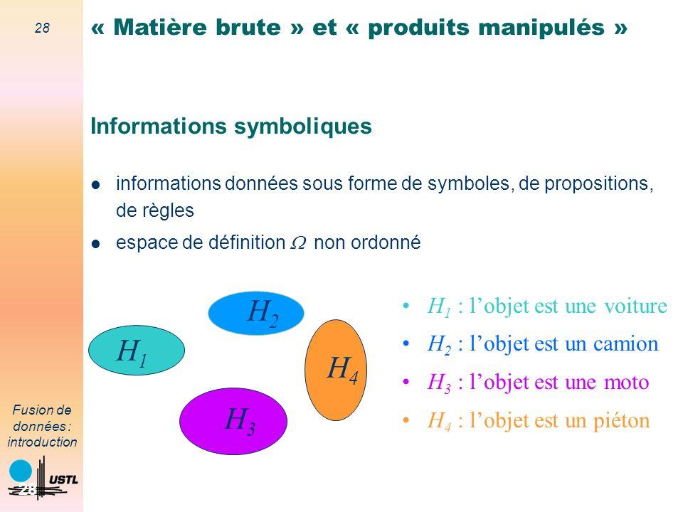Informations symboliques
