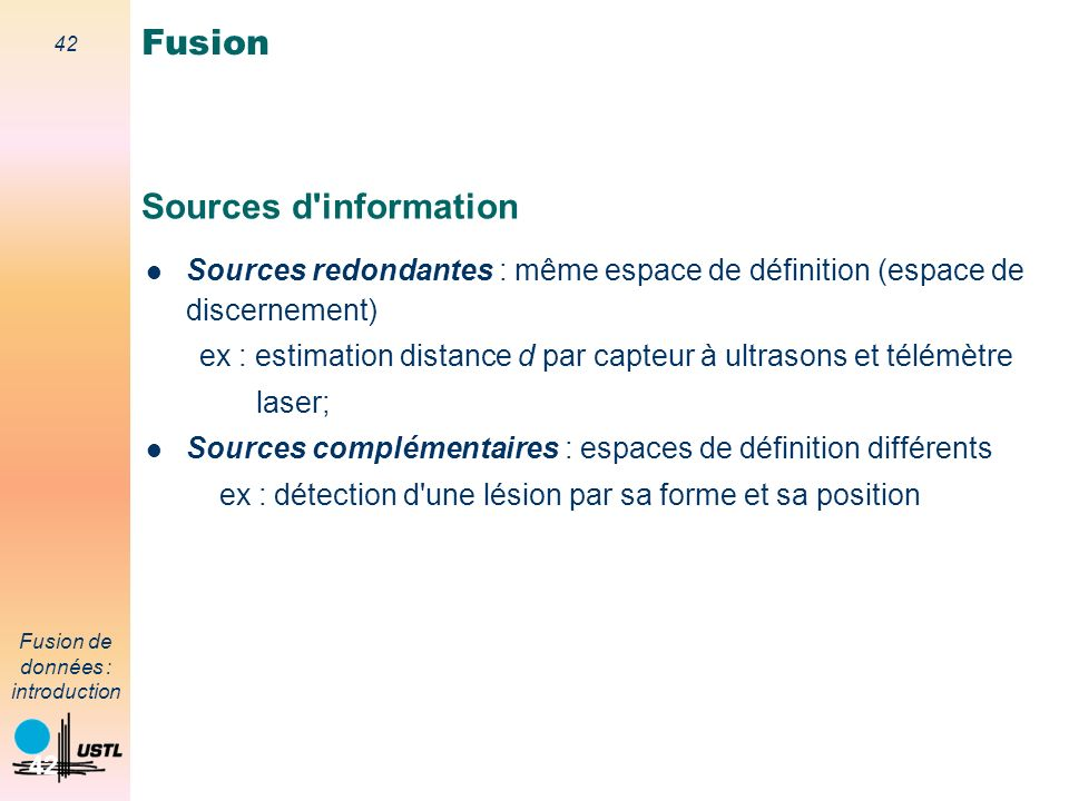 Fusion Sources d information
